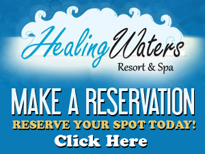 Book a Healing Waters Resort