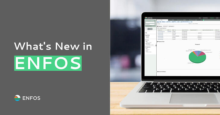 ENFOS New Features: Auto-Save, Reopen Audit and More