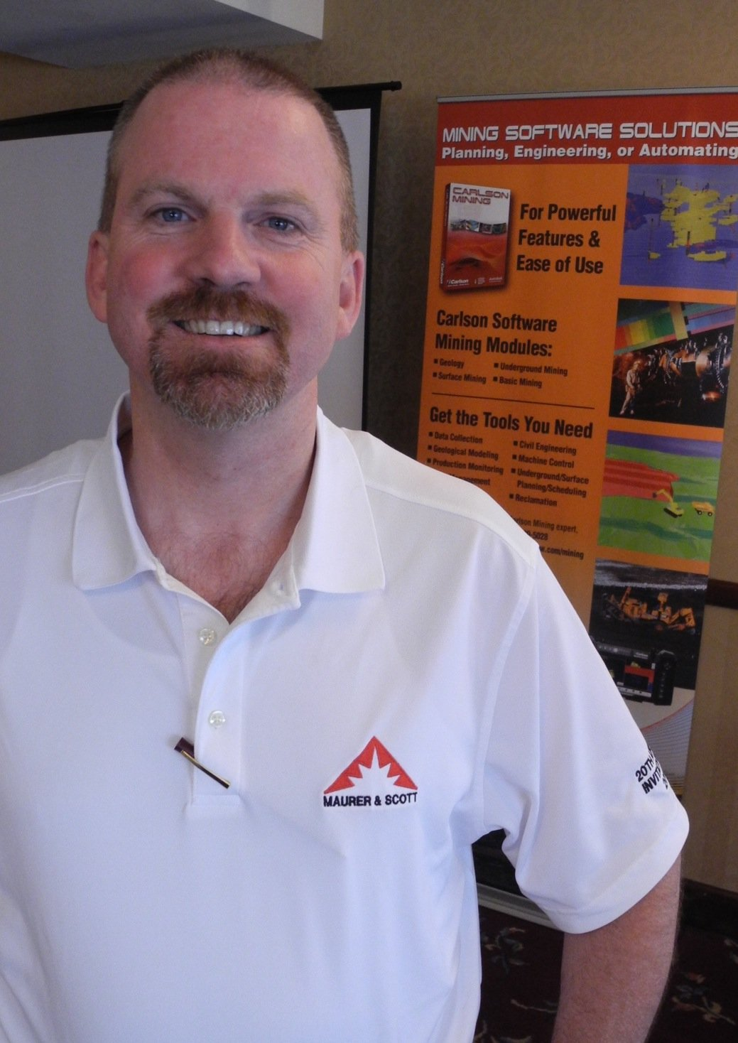 Brian Glackin uses Carlson Mining software