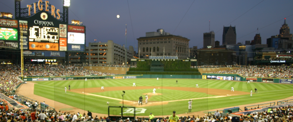 Comerica Park in Detroit