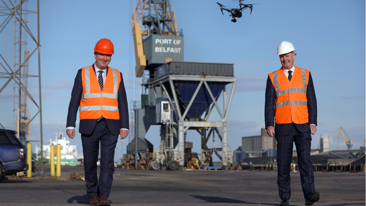 Belfast Harbour and BT to Build the UK and Ireland's First 5G Private Network for Ports