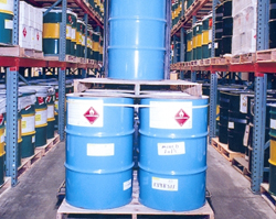 Chemical Storage Warehouse in California