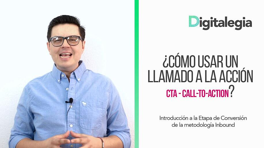 [VIDEO] ¿CÓMO USAR UN LLAMADO A LA ACCIÓN (CTA- Call-To-Action) ?