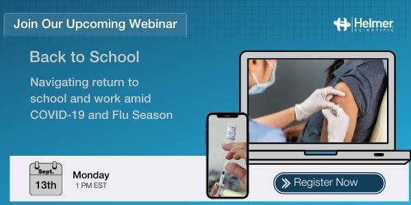 Upcoming Webinar | Back to School: Navigating return to school and work amid COVID-19 and Flu Season