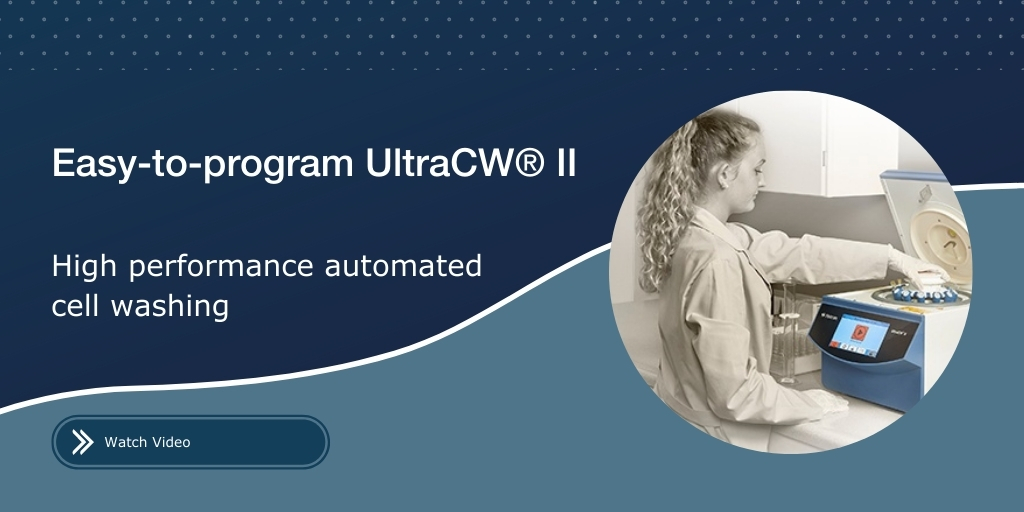 See How Easy it is to Program the UltraCW® II Cell Washer