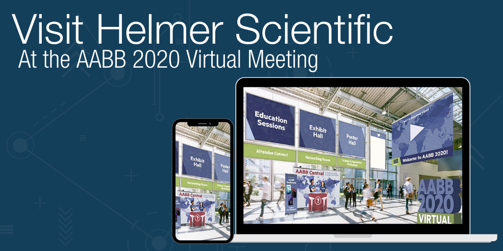 Visit Helmer Scientific at the AABB 2020 Virtual Meeting