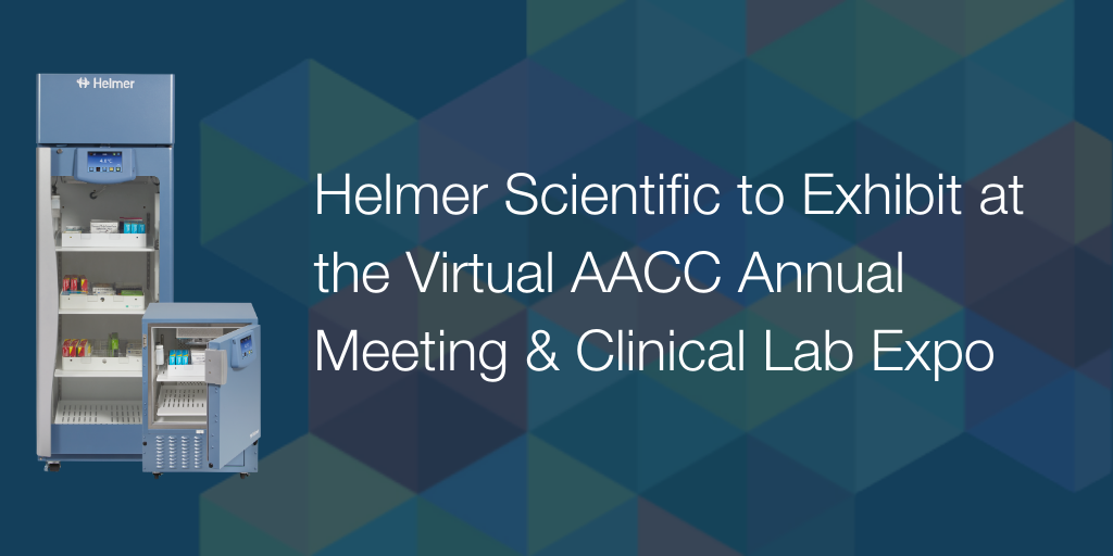 Helmer Scientific to Exhibit at the Virtual AACC Annual Meeting & Clinical Lab Expo