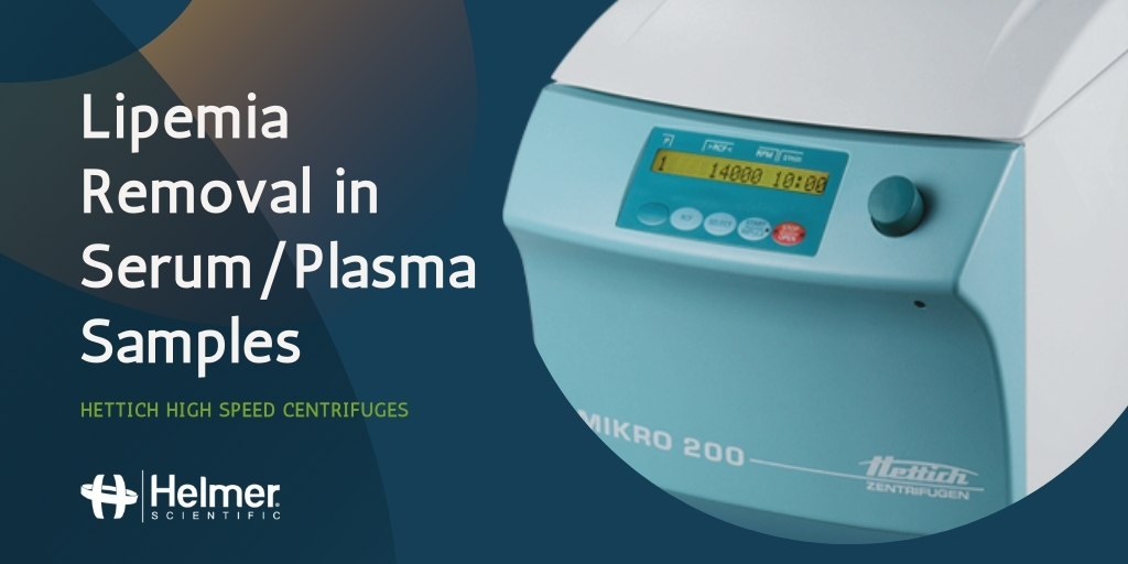 Cost Effective Centrifugation for Lipemic Samples