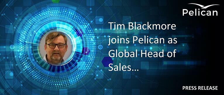 Pelican appoints Tim Blackmore as Global Head of Sales