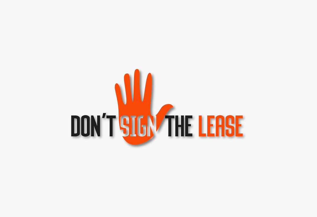 Episode 015 of the Don't Sign the Lease Podcast
