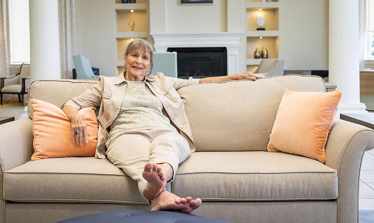 What's it like for seniors in an independent living community?