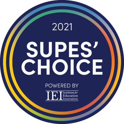 Supes-Choice-Logo_Colored- Navy Background