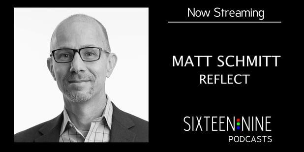 President & co-founder Matt Schmitt talks with Dave Haynes of 16:9