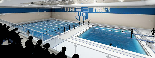VIDEO: Brainerd High School's Pool Project Underway — Activities Director, Swim Coach, and Student Athlete Discuss