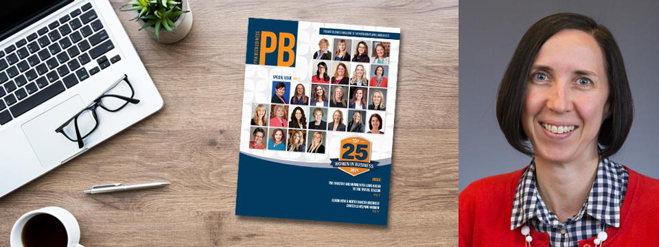 Marcussen Named One of the Top 25 Women in Business by Prairie Business Magazine