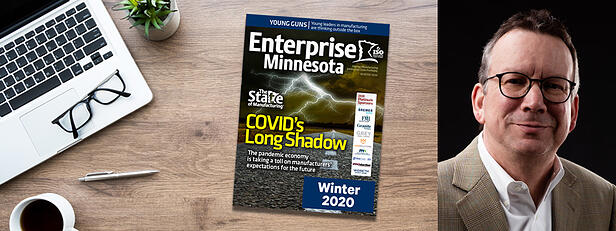 Widseth's Joe Breiter Featured in Enterprise Minnesota's Winter 2020 Magazine