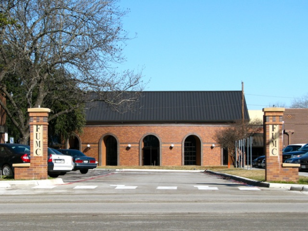 Closed Street - FUMC Temple