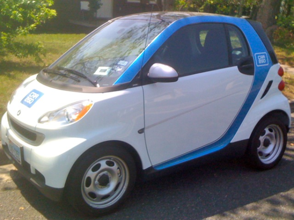 My almost Car2Go rental