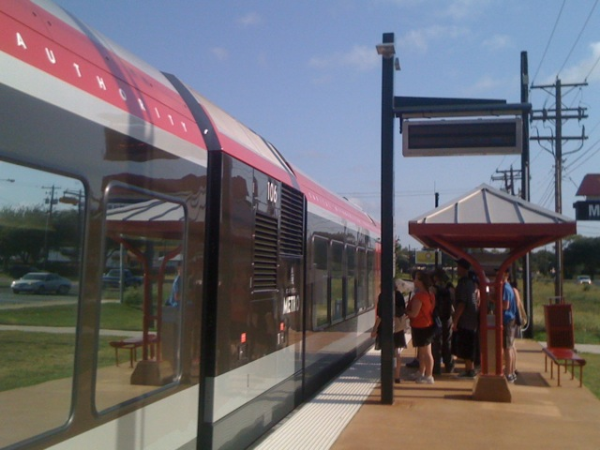 Using Alternative Transportation - MetroRail