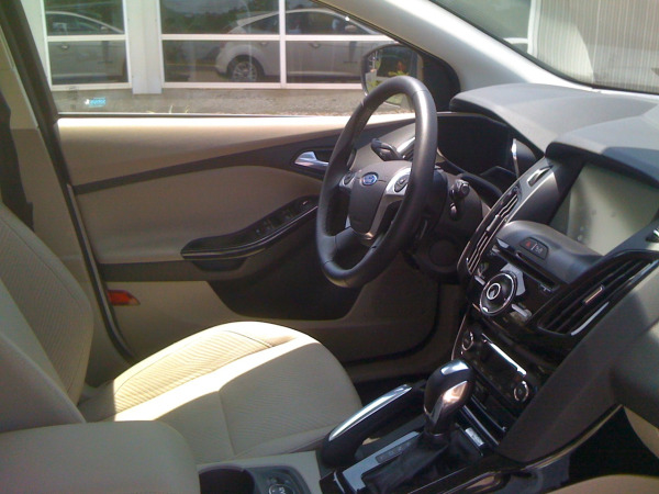 electric car revolution focus interior