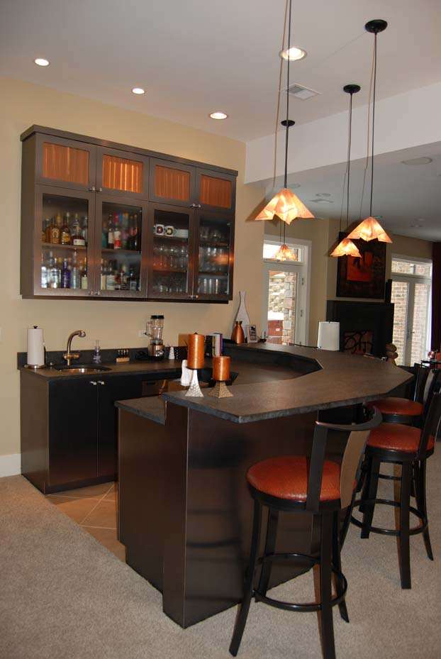 Home remodeling 7 ideas for remodeling your basement - Home basement bar ideas ...