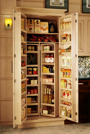 Kitchen cabinets options for a kitchen pantry you deserve for Kitchen pantry cabinet