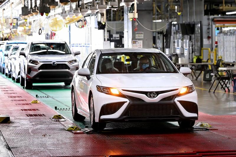 Toyota Celebrates 10 Millionth Camry Milestone in Kentucky