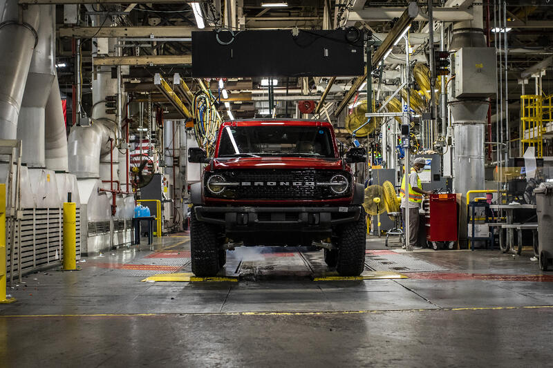 2021 Ford Bronco Production, Dealer Shipments Are Underway