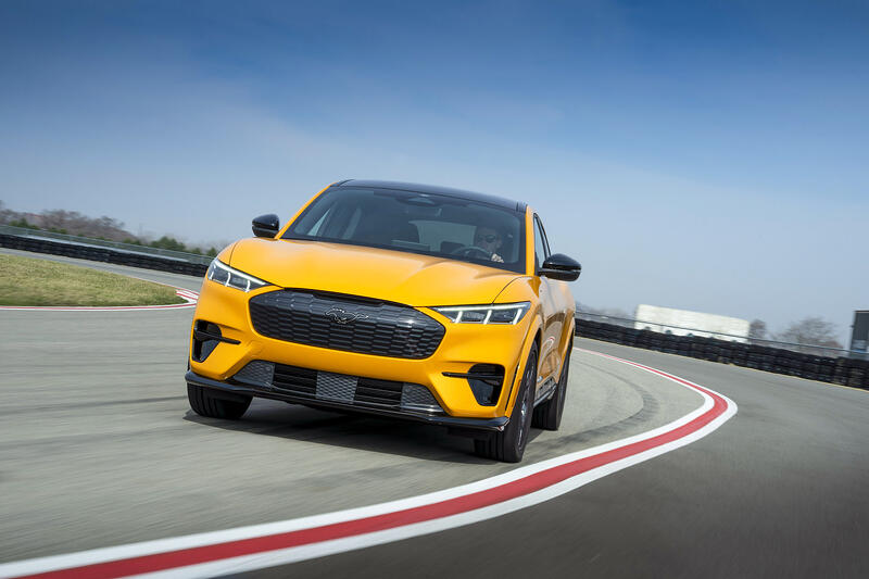 Ford Announces Mach-E GT Range Estimates