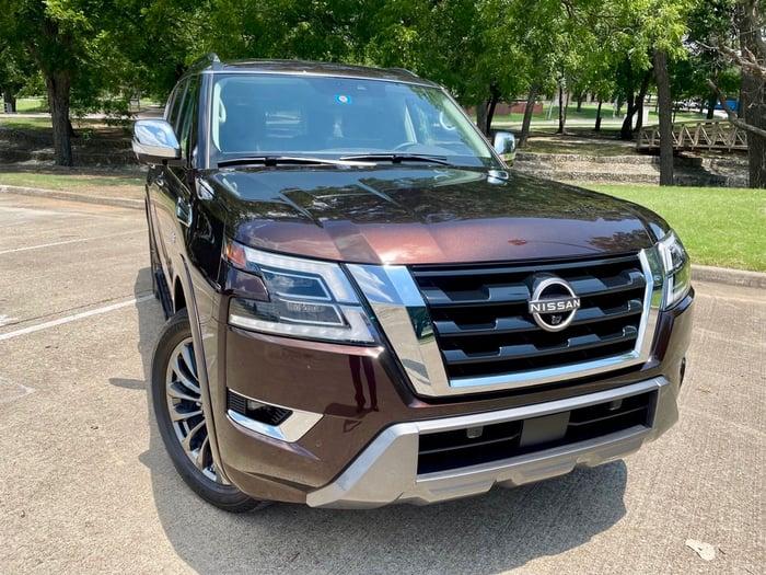 2021 Nissan Armada Platinum Review