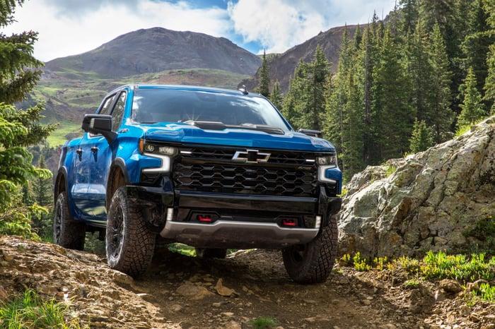 Chevrolet Introduces 2022 Silverado ZR2 Flagship