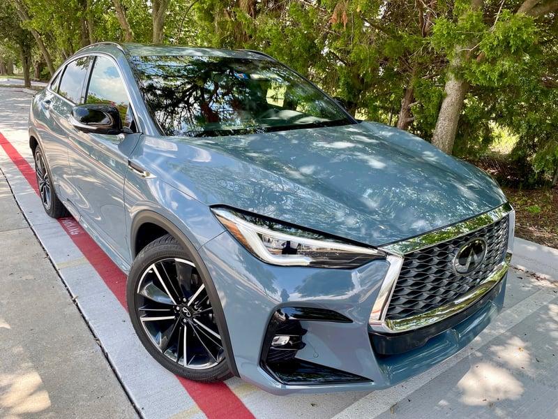2022 INFINITI QX55 Sensory AWD Review