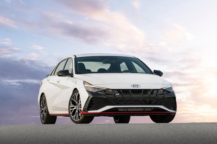 Hyundai Unveils The Hot 2022 Elantra N