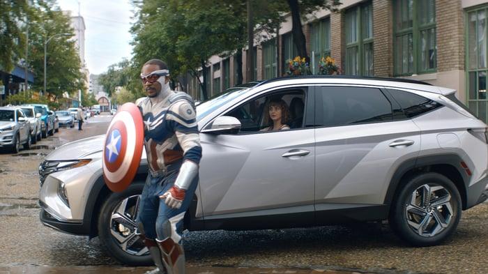 Hyundai Teams Up With Marvel Studios For 2022 Hyundai Tucson Campaign
