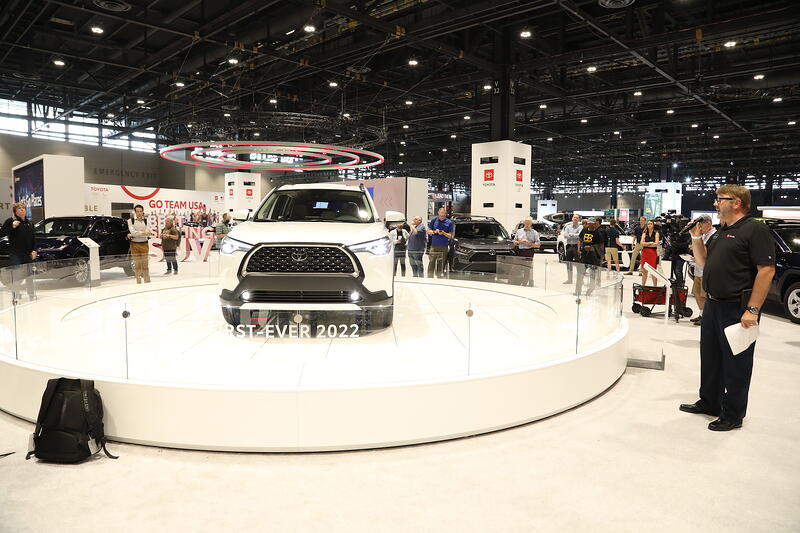 Toyota Debuts 5 Models At Chicago Auto Show