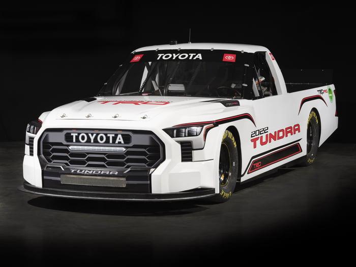Toyota Reveals All-New 2022 Tundra NASCAR Truck