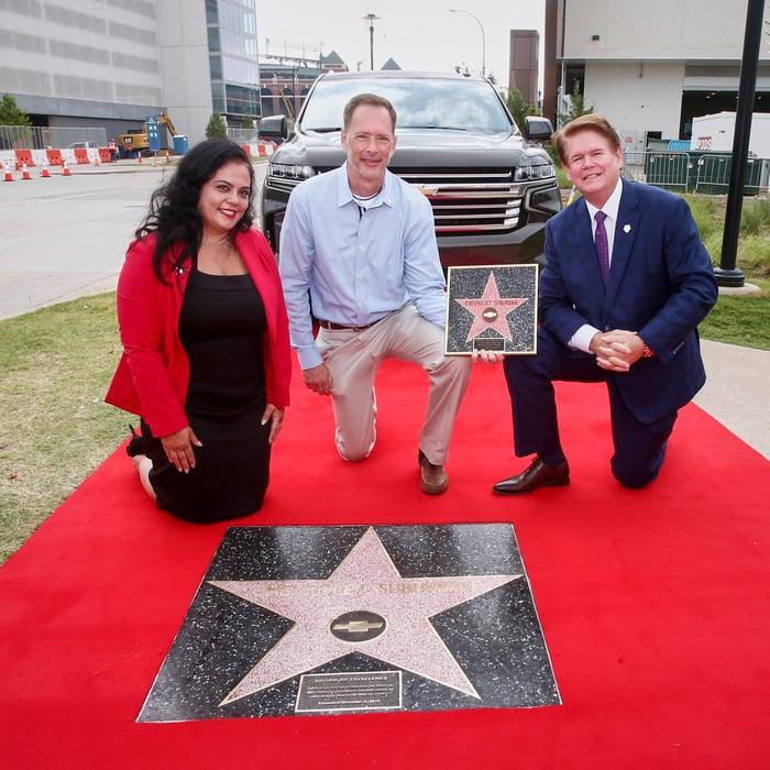 The Chevrolet Suburban's Hollywood Award Comes Home To Texas