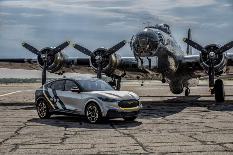 Custom Mustang Mach-E Honors Women Airforce Service Pilots