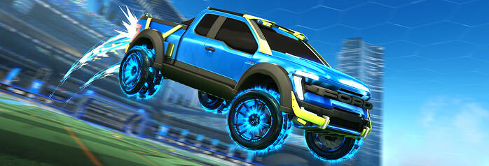 Ford F-150 Joins Rocket League Video Game