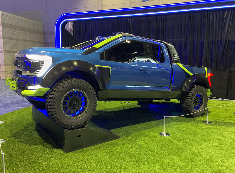 Real Life Ford F-150 Rocket League Edition Concept