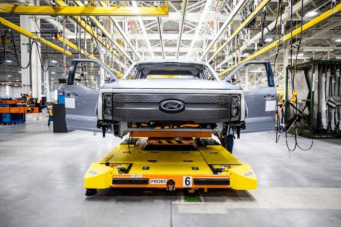 2022 Ford F-150 Lightning Pro Charging
