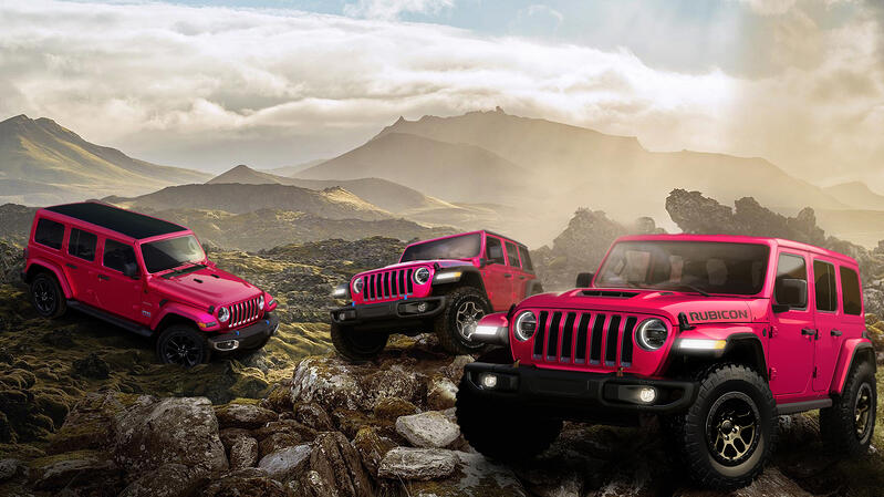 Check Out The Color On The New Jeep Wrangler Tuscadero