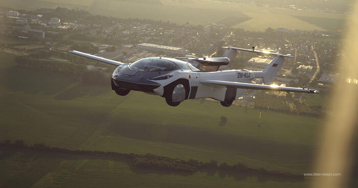 Flying Car Completes First Inter-City Flight