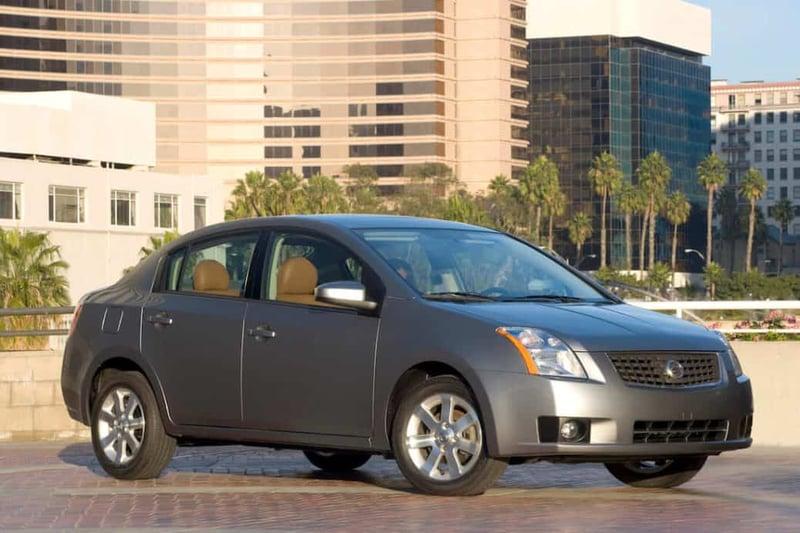 Takata Recall: 2007-2008 Nissan Versa Sedan, Hatchback