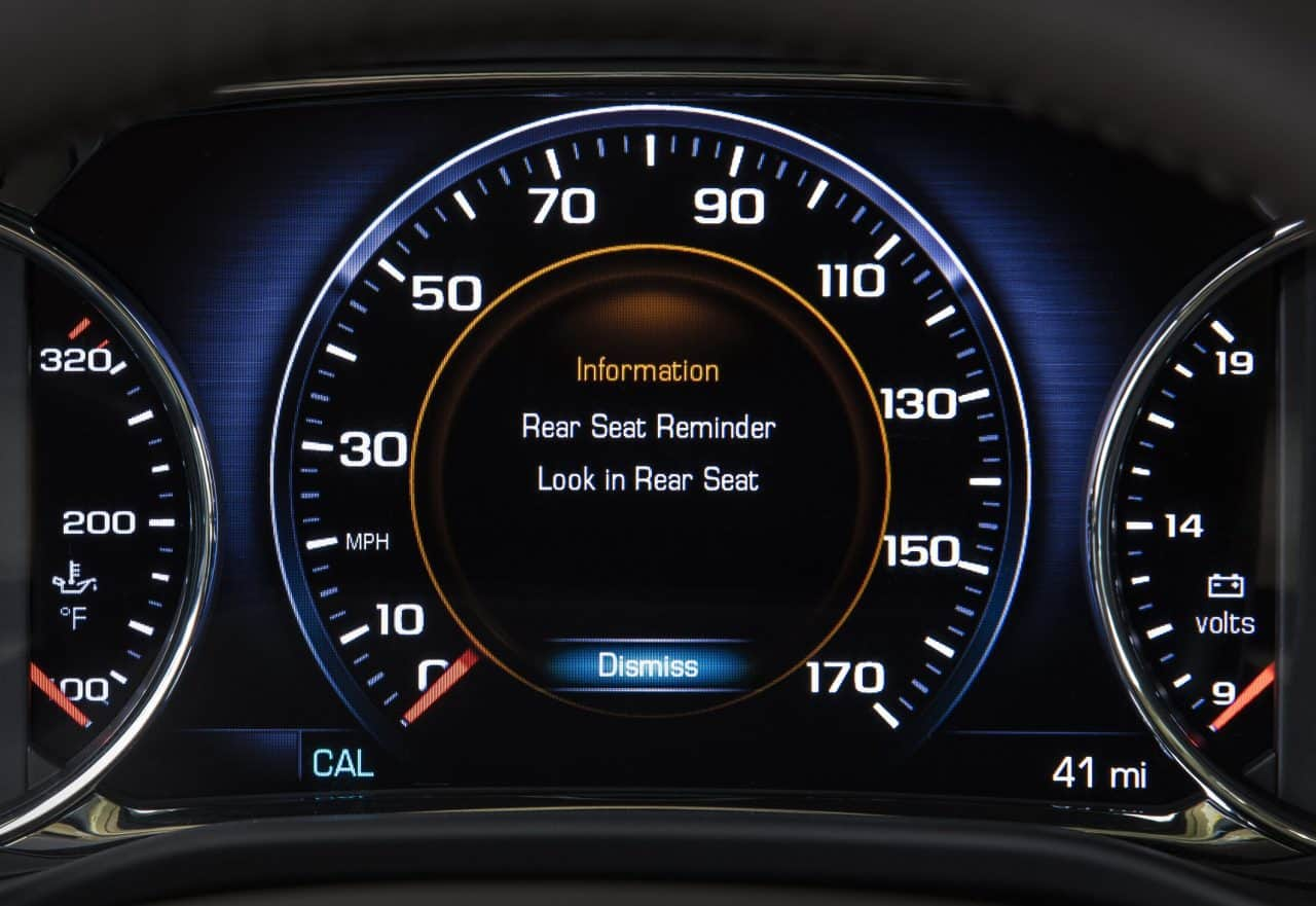 GM Vehicles That Offer Rear Seat Reminder Feature