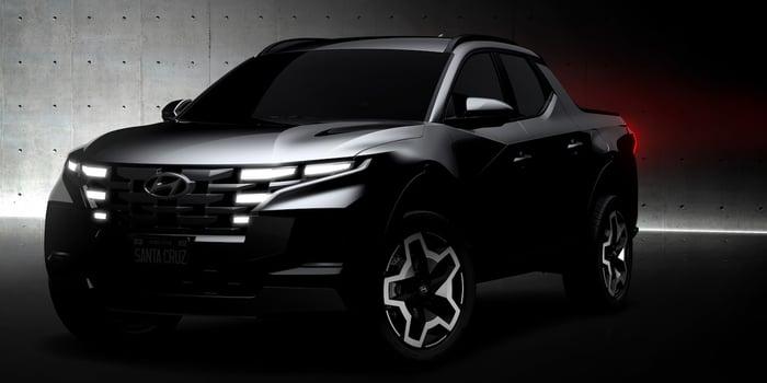 Hyundai Teases Santa Cruz Pickup Ahead Of April 15 Reveal