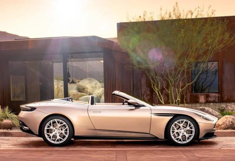 Aston Martin Debuts DB11 Volante Convertible