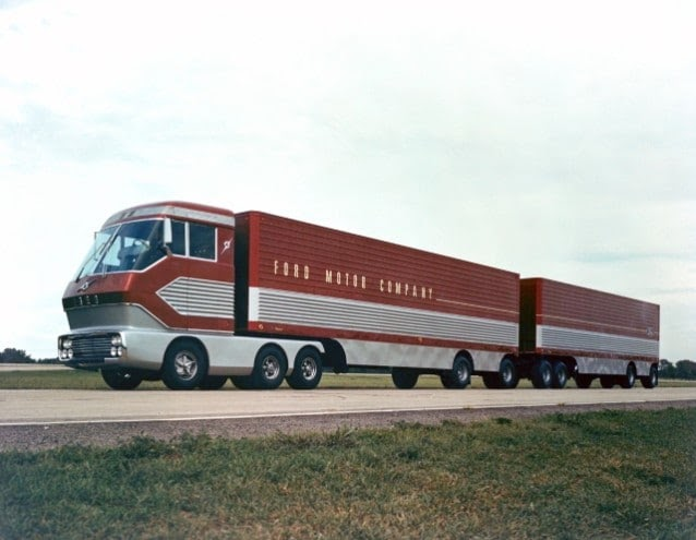Ford�s 1964 Big Red Turbine Truck Located