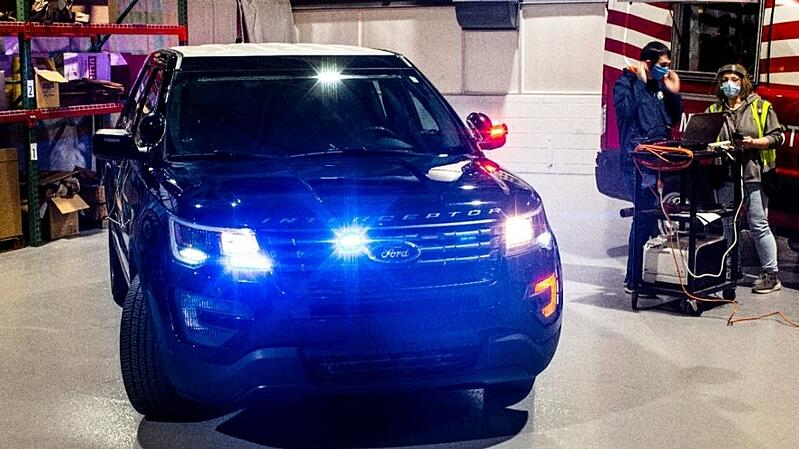 Ford Tests Coronavirus Technology In Police Vehicles