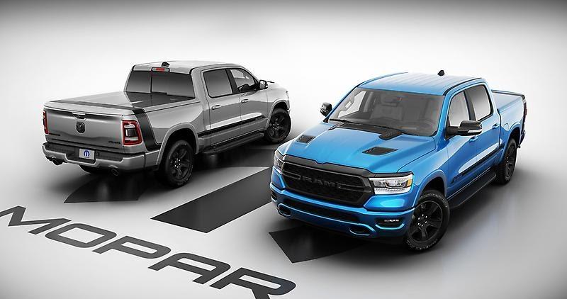 2021 Ram 1500 Mopar Special Edition Debuts